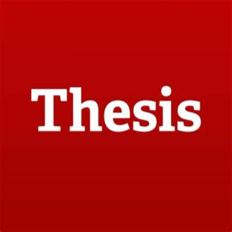 Examples of thesis introduction